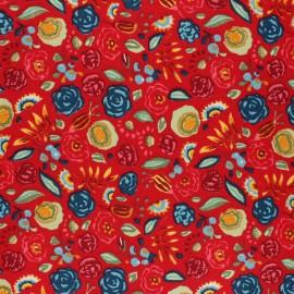 Tissu Toile Transat Dralon® Nina - Rouge x 10cm