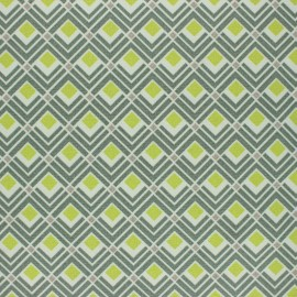 Outdoor canvas fabric - green Carica x 10cm