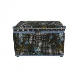 Medium Size Sewing Box - Pied-de-poule