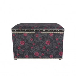 Large Size Sewing Box - Romantic rose