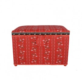 Large Size Sewing Box - red Florie