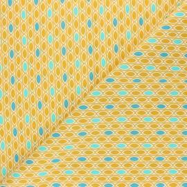Tissu coton Ada - curry x 10cm
