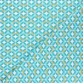 Tissu coton Polly - vert céladon x 10cm