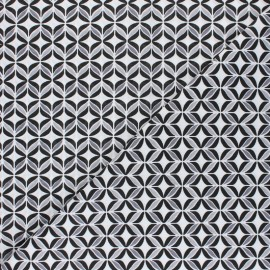 Cotton fabric - black Polly x 10cm