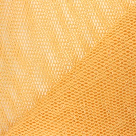 Organic Mesh fabric - yellow x 10cm