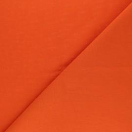 Tissu Coton uni Nuance - Citrouille x 10cm