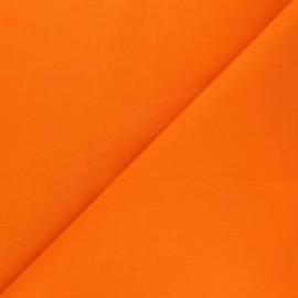 Tissu Coton uni Nuance - Orange x 10cm