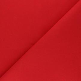 Tissu Coton uni Nuance - Coquelicot x 10cm