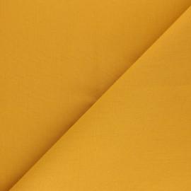 Tissu Coton uni Nuance - Banane x 10cm