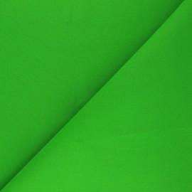Tissu Coton uni Nuance - vert vif x 10cm