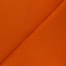 Plain Cotton Fabric - Carrot orange Nuance x 10cm