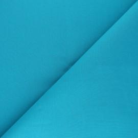 Tissu Coton uni Nuance - Bleu Hawaï x 10cm