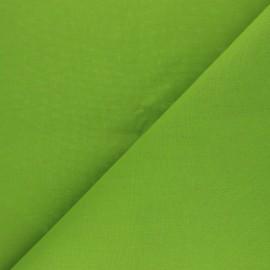 Tissu Coton uni Nuance - Avocat x 10cm