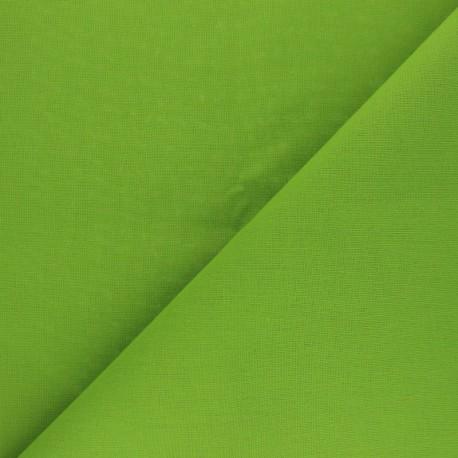Cotton Fabric - Avocado green Nuance x 10cm