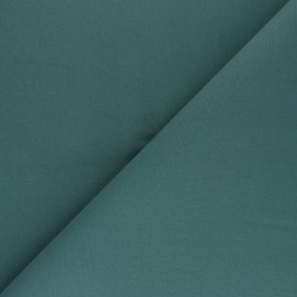Plain Cotton Fabric - Petrol blue Nuance x 10cm