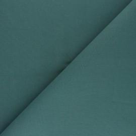Tissu Coton uni Nuance - bleu pétrole x 10cm