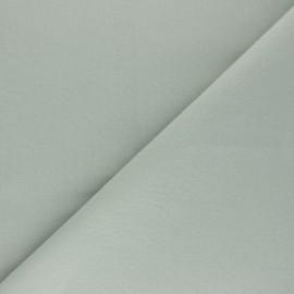 Tissu Coton uni Nuance - vert de gris x 10cm