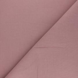 Tissu Coton uni Nuance - Eau de rose x 10cm