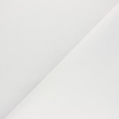 Cotton Fabric - optical white Nuance x 10cm