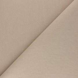 Tissu Coton uni Nuance - Galet x 10cm