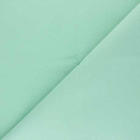Cotton Fabric - Opalin green Nuance x 10cm