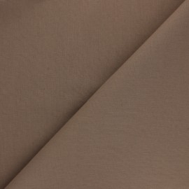 Plain Cotton Fabric - Brown Chestnut Nuance x 10cm
