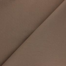 Tissu Coton uni Nuance - Châtaigne x 10cm
