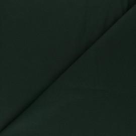 Tissu Popeline - Vert bouteille x10 cm