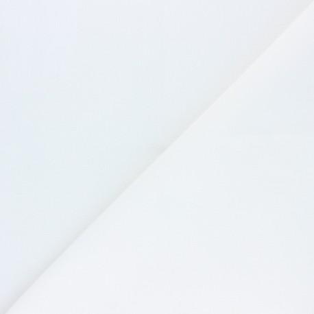 Tissu pour masque coton antibactérien déperlant - Blanc x 10cm