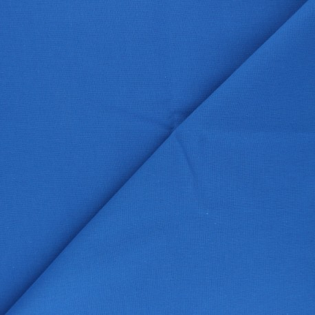 Tissu Coton uni Nuance - Bleu roi x 10cm