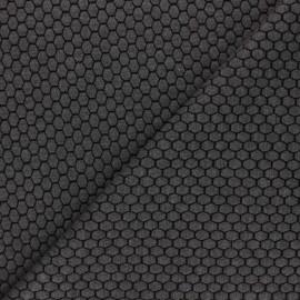 Tissu maille jersey Tomette - Gris x10cm