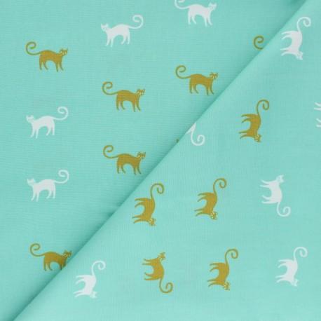 AGF Cotton fabric - Oh Meow ! Feline Good x 10cm