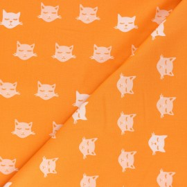 Tissu coton AGF Oh Meow ! - Cat Nap x 10cm