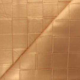 Simili cuir tressé Ode - Doré x 10cm
