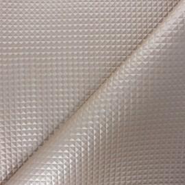 Simili cuir Merlin - beige nacré x 10cm
