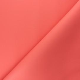 Imitation leather Karia - Coral x 10cm