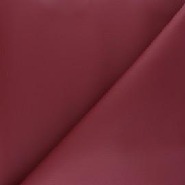 Simili cuir Karia - lie de vin x 10cm