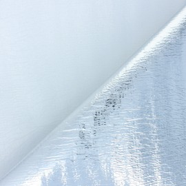 Simple-side Insulated fabric - silver x 10cm
