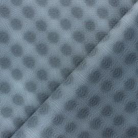 Simili cuir Kyo - argenté x 10cm