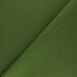 Plain coat sheet fabric - green Moscou x 10cm