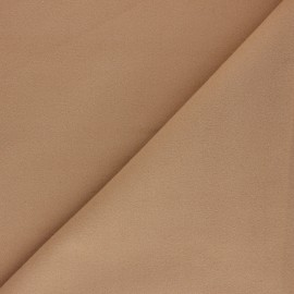 Tissu drap manteau uni Moscou - Beige clair x 10cm