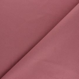 Plain coat sheet fabric - old pink Moscou x 10cm