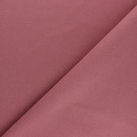 Tissu drap manteau uni Moscou - Vieux rose x 10cm
