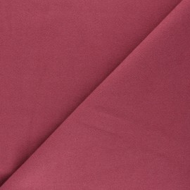Plain coat sheet fabric - fig Moscou x 10cm