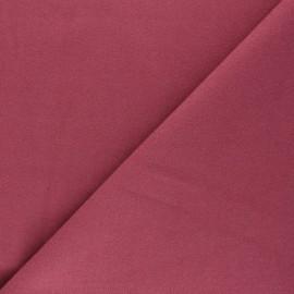 Tissu drap manteau uni Moscou - Figue x 10cm