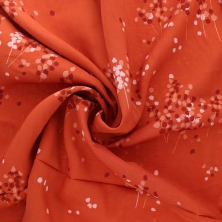 AGF Rayon fabric - Kushukuru - Divine Pacha x 10cm