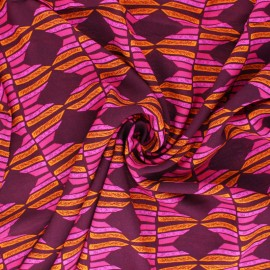 Tissu rayonne AGF Maara - Kente Journey x 10cm
