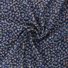 Rayon fabric - blue Belinda x 10cm