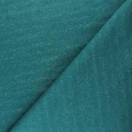 Mind the Maker Mottled Sweatshirt fabric - Navy blue x 10 cm