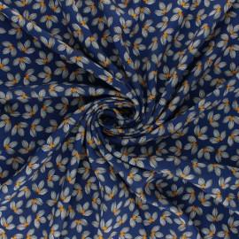 Tissu viscose Albi - bleu x 10cm